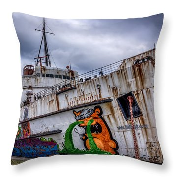 The Duke Of Lancaster Throw Pillow by Adrian Evans