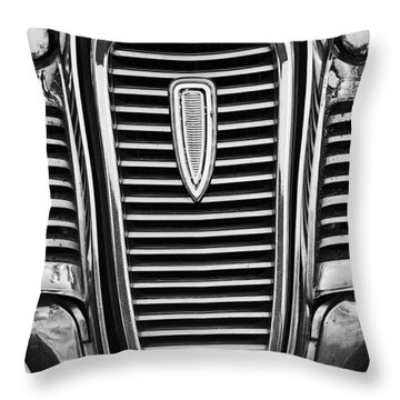 The Edsel Grill Throw Pillow by Paul Mashburn