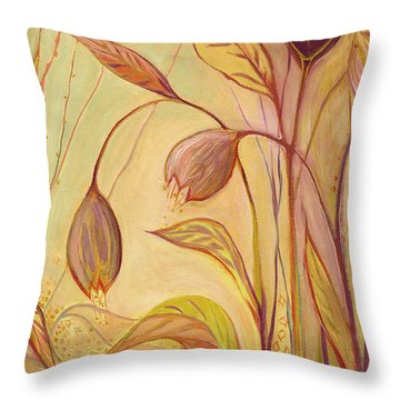 The Enchantment Throw Pillow by Jennifer Lommers