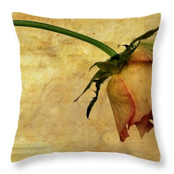 The End Of Love Throw Pillow by John Edwards