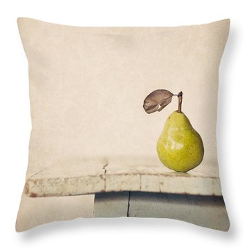 The Exhibitionist Throw Pillow by Amy Weiss