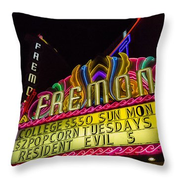 The Fremont Throw Pillow by Caitlyn  Grasso