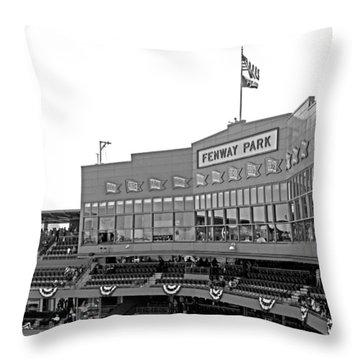 The Good Seats Throw Pillow by Barbara McDevitt