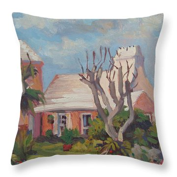 The Granaway Throw Pillow by Dianne Panarelli Miller