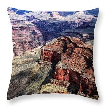 The Grand Canyon V Throw Pillow by Tom Prendergast