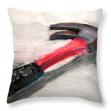 The Hammer Throw Pillow by Ryan Burton
