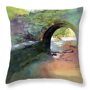 The Headgate Throw Pillow by Kris Parins