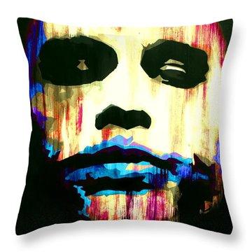 The Joker Why So Serious Throw Pillow by Brad Jensen