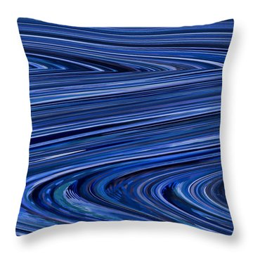 The Journey Throw Pillow by Bonnie Bruno