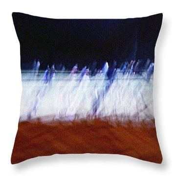 The Leapers Throw Pillow by Kume Bryant