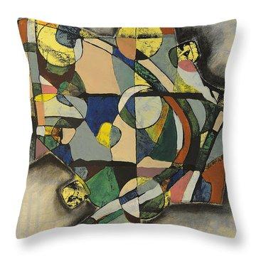 The Life Of Turf Throw Pillow by Mark Jordan