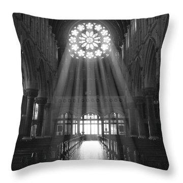 The Light - Ireland Throw Pillow by Mike McGlothlen
