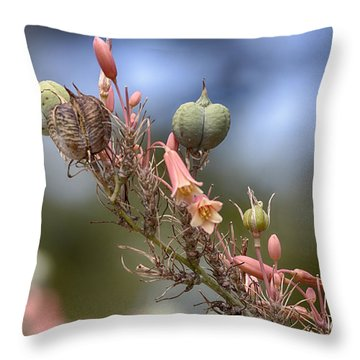 The Little Things In Life Throw Pillow by Douglas Barnard