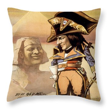 The Littler Corporal Throw Pillow by Aged Pixel