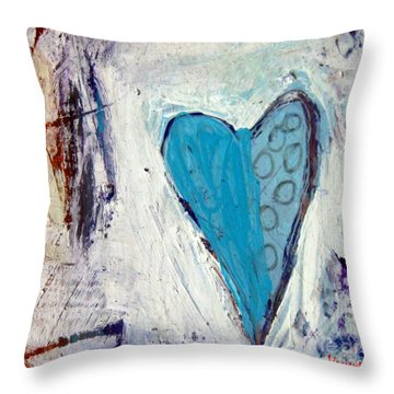The Love Inside Throw Pillow by Venus