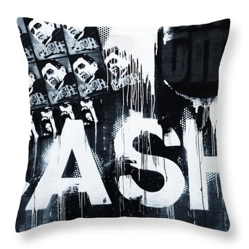 The Man In Black Throw Pillow by Dan Sproul