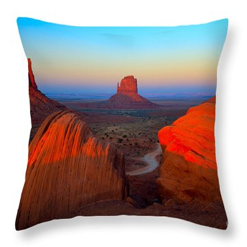 The Mittens Throw Pillow by Inge Johnsson