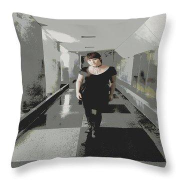 The Mix Throw Pillow by Nick David