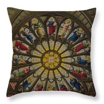 The North Window Throw Pillow by William Johnstone White