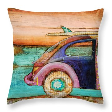 The Perfect Day Throw Pillow by Danny Phillips