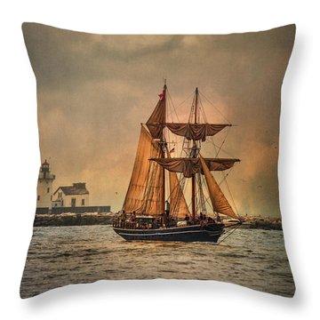 The Playfair Throw Pillow by Dale Kincaid