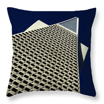 The Pyramid Throw Pillow by Bill Gallagher