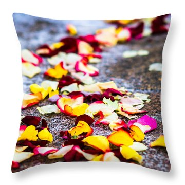 The Road - Featured 3 Throw Pillow by Alexander Senin