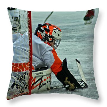 The Save Throw Pillow by David Rucker