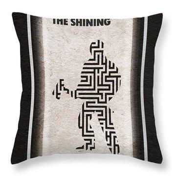 The Shining Throw Pillow by Ayse Deniz