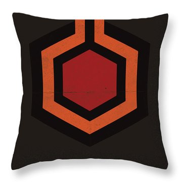The Shining Throw Pillow by Mike Taylor