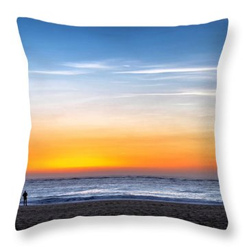 Throw Pillow featuring the photograph The Sky As The Only Limit by Thierry Bouriat