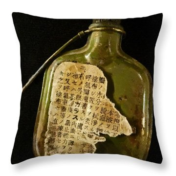 The Torn Message Throw Pillow by Steve Taylor