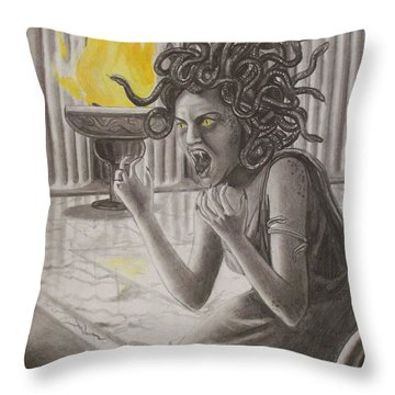 The Transformation Throw Pillow by Amber Stanford