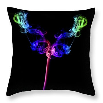 The Tulip Throw Pillow by Steve Purnell