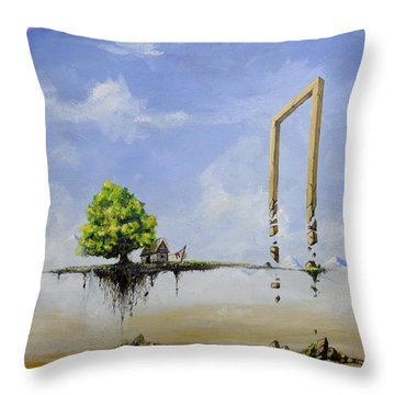The Untold Story... Throw Pillow by Mariusz Zawadzki