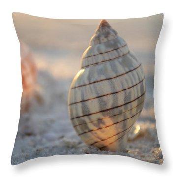 The Voice Of The Sea Throw Pillow by Melanie Moraga