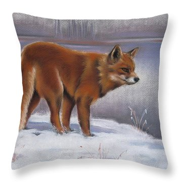 The Waiting Game Throw Pillow by Cynthia House