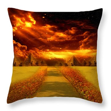 There's Always A Way Throw Pillow by Ester  Rogers