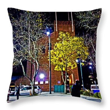 Thinking About Past Glory Throw Pillow by Tom Gari Gallery-Three-Photography