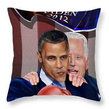 This Is A Big ------- Deal Throw Pillow by Reggie Duffie
