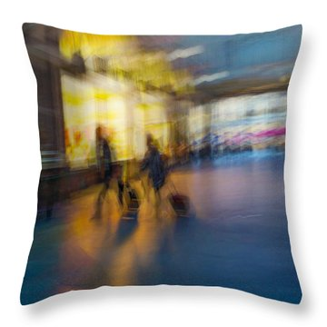 This Is How We Roll Throw Pillow by Alex Lapidus