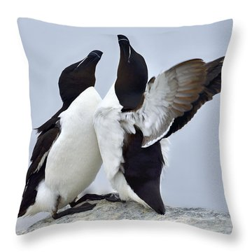 This Much Throw Pillow by Tony Beck