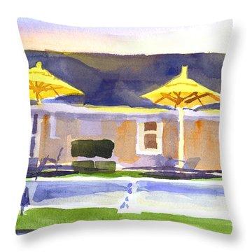 Three Amigos IIib Throw Pillow by Kip DeVore