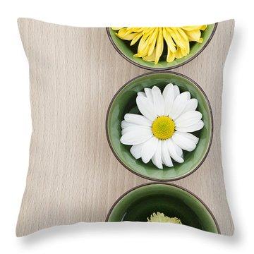 Three Throw Pillow by Anne Gilbert