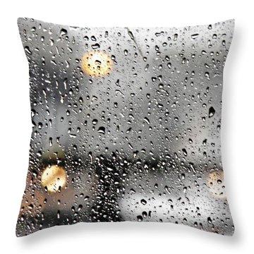 Through A Glass Darkly Throw Pillow by Sarah Loft