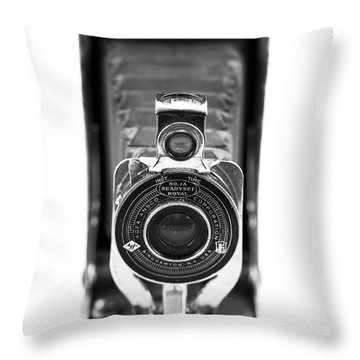 Through The Lens Throw Pillow by John Rizzuto
