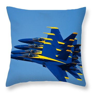 Tight With My Brothers Throw Pillow by Adam Romanowicz