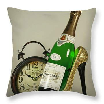 Time For A Night On The Town Throw Pillow by Inspired Nature Photography Fine Art Photography