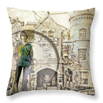 Time Lapse Throw Pillow by John Anderson