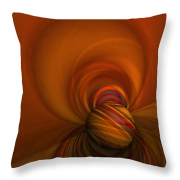 Time Warp Throw Pillow by Mary Machare